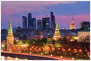 Moscow City и Кремлевская набережная